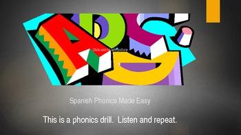 Spanish Musical Alphabet and Phonics