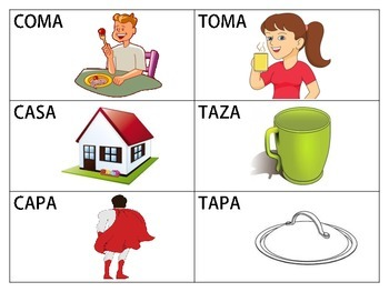 Spanish Minimal Pairs: /k/ and /t/ in the Initial Position