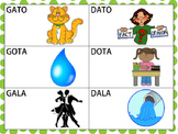 Spanish Minimal Pairs with /g/ & /d/ (Initial & Medial Pos