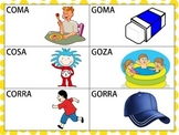Spanish Minimal Pairs with /k/ and /g/ in the Initial Posi