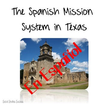 Spanish Missions in Texas - Translated into Spanish