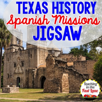 Spanish Missions of Texas Jigsaw Activity
