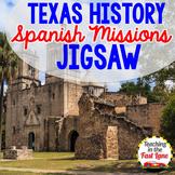 Spanish Missions of San Antonio Jigsaw Activity