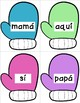 Spanish Mitten Sight Word Game