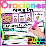 Spanish Mixed Sentence Center- Centro de Oraciones Mezcladas