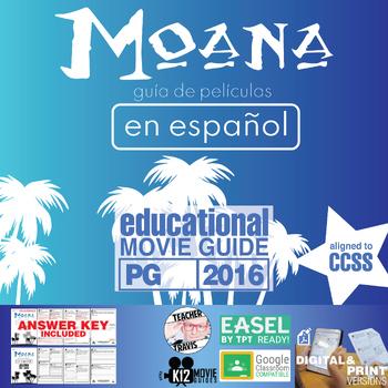 Moana Guía de película en Español / Moana Movie Guide in Spanish