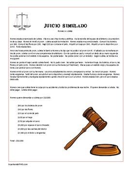 Spanish Mock Trial