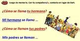 Spanish Family members & possessive adjectives Module 4 Lesson 1