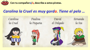 Spanish Module 4 lesson 3 Describing someone else