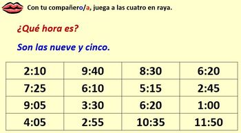 Spanish Module 5 Lesson 2 Telling the time & Saying where you're going in town
