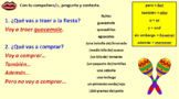 Spanish Discussing what to buy for a party Module 8 Lesson 4
