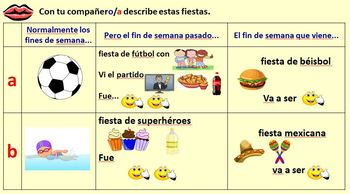 Spanish Giving an account of a party Module 8 Lesson 5
