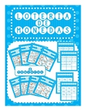 Spanish Money Bingo / Lotería de Monedas (coins) en Español