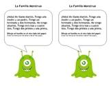 "Spanish Monster Family - Practice family members, numbers, ""tengo"""