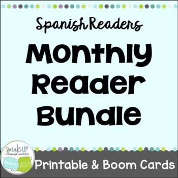 Spanish Monthly Reader Bundle {libros en español}