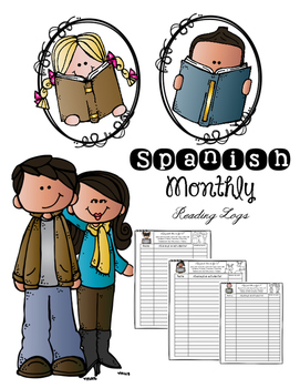 Spanish Monthly Reading Logs