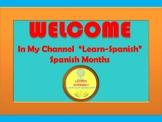 Spanish Months