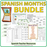 Spanish Months Bundle