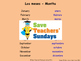 Spanish Months Lesson plan, PowerPoint (with audio), Flashcards & Worksheet