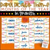 Spanish Months - Papel Picado Theme