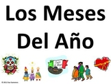 Spanish Months of the Year and Hispanic Festivals Signs - Spanish Calendar