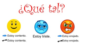 Spanish Moods and Emotions for Kids