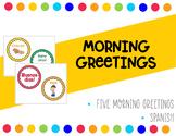 Spanish Morning Greetings