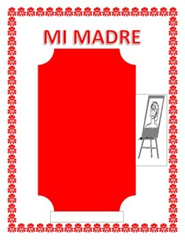 "Spanish Mother's Day- ""Mi Madre""--  Physical & Personality Traits"