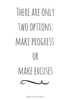 English Spanish Motivational Poster - Dos Opciones