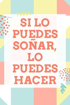 spanish motivational quotes end of year gift by la senora