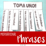 Spanish Motivational phrases - Toma uno - Español