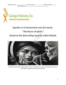 "Spanish Movie Assessment: ""The House of Spirits"""