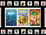 Spanish Movie Scenes Game -Shrek, Finding Nemo, Secret Life of Pets, Fox & Hound