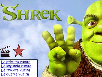 Spanish Movie Scenes Game -Shrek, Finding Nemo, Secret Life of Pets, Fox & Hound