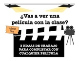 Spanish Movie Worksheets