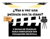 Spanish Movie Worksheets
