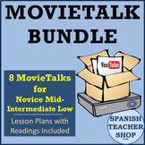 Spanish MovieTalk Lesson Plan Bundle