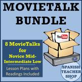 Spanish MovieTalk Lesson Plan Bundle