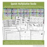 Spanish Multiplication Bundle Factors 0-12  - Easel Digita