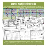 Spanish Multiplication Bundle Factors 0-12  ✅ Great for Di