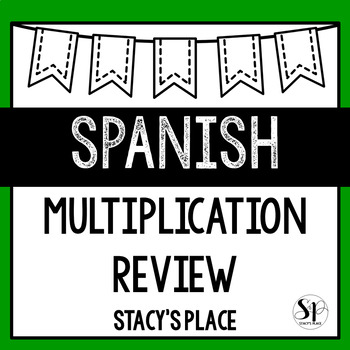 Spanish Multiplication Review
