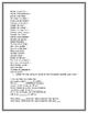 Spanish Music Activity Packet - Mi Lista by Aldrey