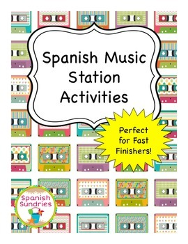 Spanish Music Appreciation Station Activities