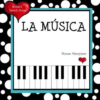 Spanish Music Book: ELL/ESL
