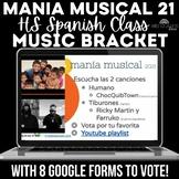 Spanish Music Bracket - mania musical 2021 Spanish class D