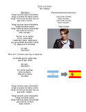 Spanish Music- Chenoa- Todo irá bien - lyrics