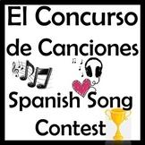 Spanish Music & Latin Artists Bracket - Concurso de Canciones