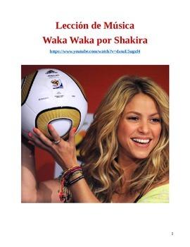 Spanish Music Lesson: Shakira