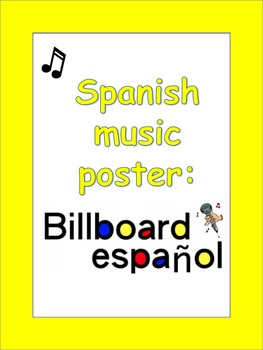 Spanish Music Poster: Billboard Español Award