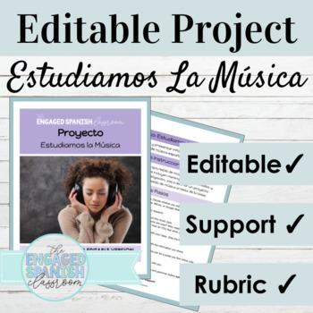 Spanish Music Research Project: El Arte y La Música